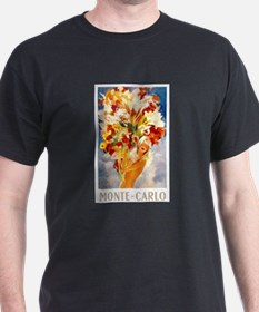 Vintage Monte Carlo Travel T-Shirt