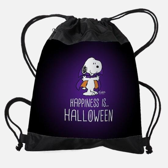 Peanuts Happiness is Halloween Drawstring Bag