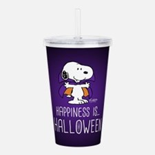 Peanuts Happiness is H Acrylic Double-wall Tumbler