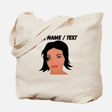 Custom Model Head Shot Tote Bag