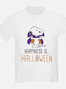 Peanuts Happiness is Halloween T-Shirt
