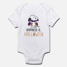 Peanuts Happiness is Halloween Infant Bodysuit