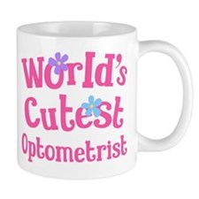 Worlds Cutest Optometrist Mug