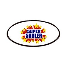 Skyler the Super Hero Patches