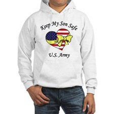 US Army Mom & Dad Keep My Son Safe Hoodie