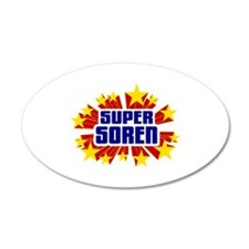 Soren the Super Hero Wall Decal