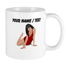 Custom Model In Red Dress Mug