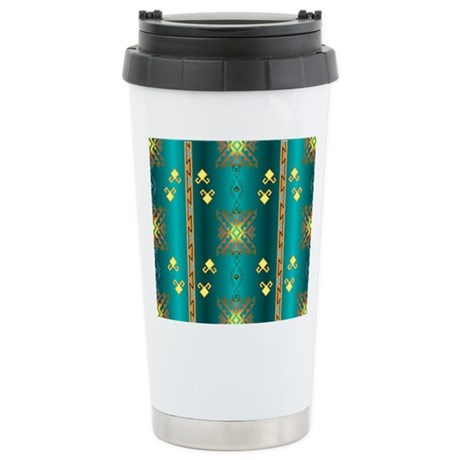 Sun In Winter Blanket Design Travel Mug By Chenocetah