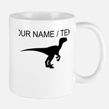Custom Velociraptor Silhouette Mug