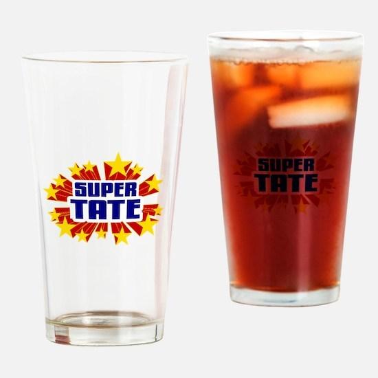 Tate the Super Hero Drinking Glass