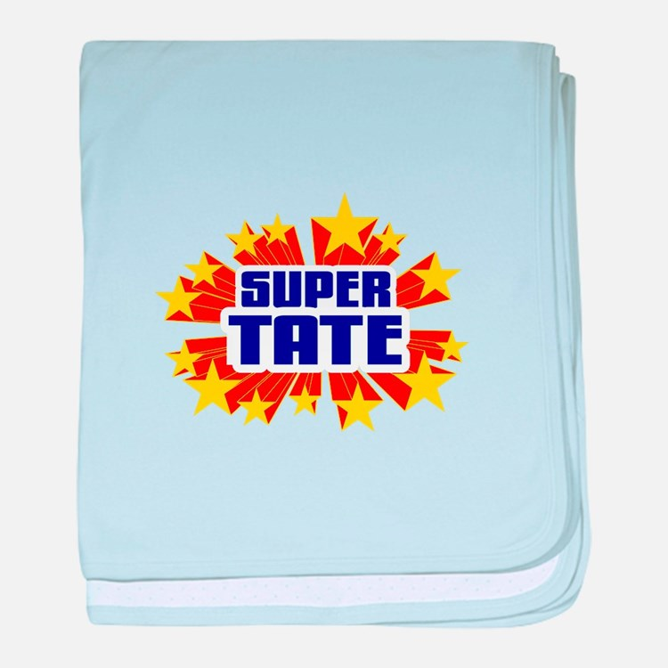 Tate the Super Hero baby blanket