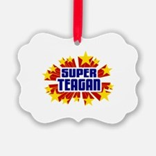 Teagan the Super Hero Ornament