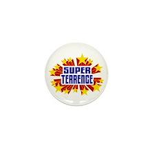 Terrence the Super Hero Mini Button