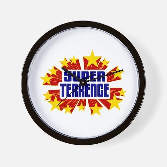 Terrence the Super Hero Wall Clock