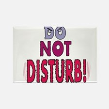 DO NOT DISTURB! Rectangle Magnet (100 pack)