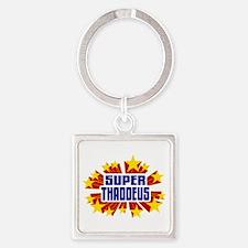 Thaddeus the Super Hero Keychains