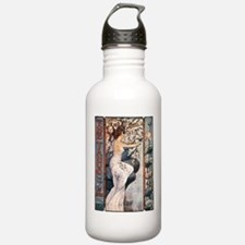 Vintage Music Art Nouveau Tango Water Bottle
