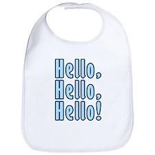 Hello Hello Hello Bib