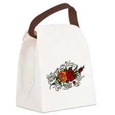 Vintage Rose Of My Heart Tattoo Art Canvas Lunch B