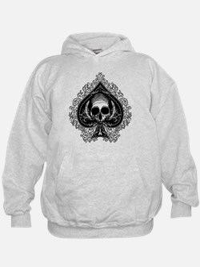Skull Ace Of Spades Hoodie