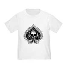 Skull Ace Of Spades T