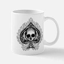 Skull Ace Of Spades Mug