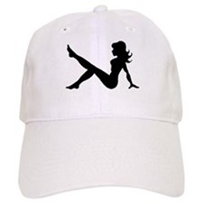 Sexy Lady Silhouette Baseball Cap