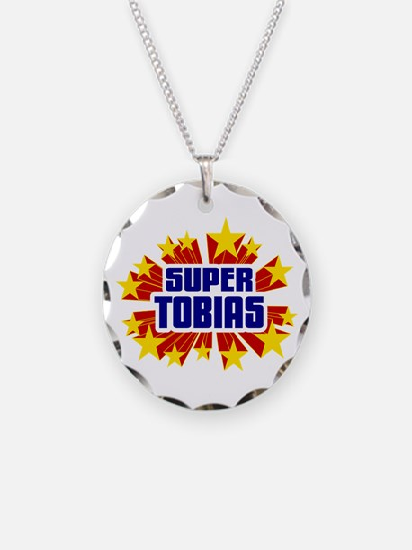 Tobias the Super Hero Necklace