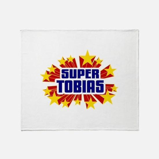 Tobias the Super Hero Throw Blanket