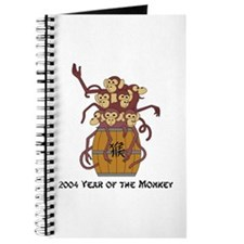 2004 Year Of The Monkey Journal