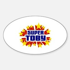 Toby the Super Hero Decal