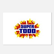 Todd the Super Hero Postcards (Package of 8)