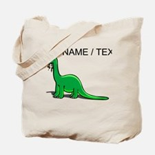 Custom Cartoon Dinosaur Tote Bag