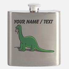Custom Cartoon Dinosaur Flask