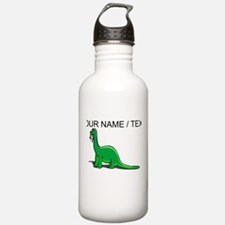 Custom Cartoon Dinosaur Water Bottle