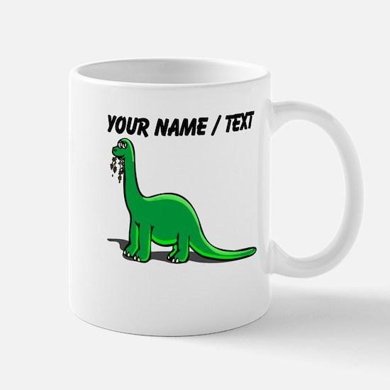 Custom Cartoon Dinosaur Mug
