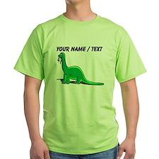 Custom Cartoon Dinosaur T-Shirt