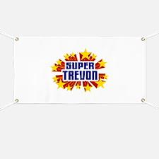 Trevon the Super Hero Banner