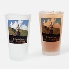 Million Dollar Cowboy Bar Drinking Glass