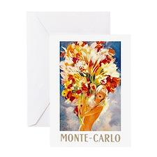 Vintage Monte Carlo Travel Greeting Card
