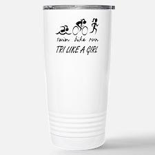 TRI LIKE A GIRL Travel Mug