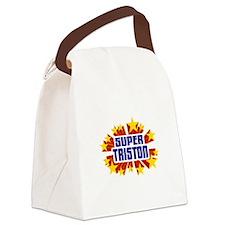 Triston the Super Hero Canvas Lunch Bag