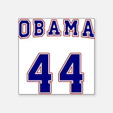 "obama44a_10t.png Square Sticker 3"" x 3"""