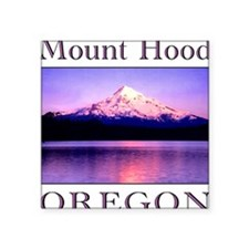 "mthood10.png Square Sticker 3"" x 3"""