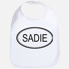 Sadie Oval Design Bib