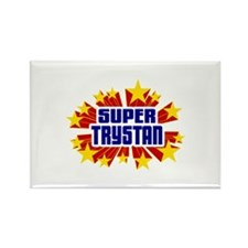 Trystan the Super Hero Rectangle Magnet