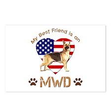 My Best Friend is an MWD Postcards (Package of 8)