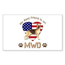 My Best Friend is an MWD Decal