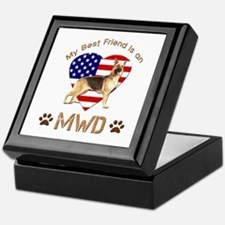 My Best Friend is an MWD Keepsake Box