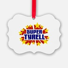 Tyrell the Super Hero Ornament